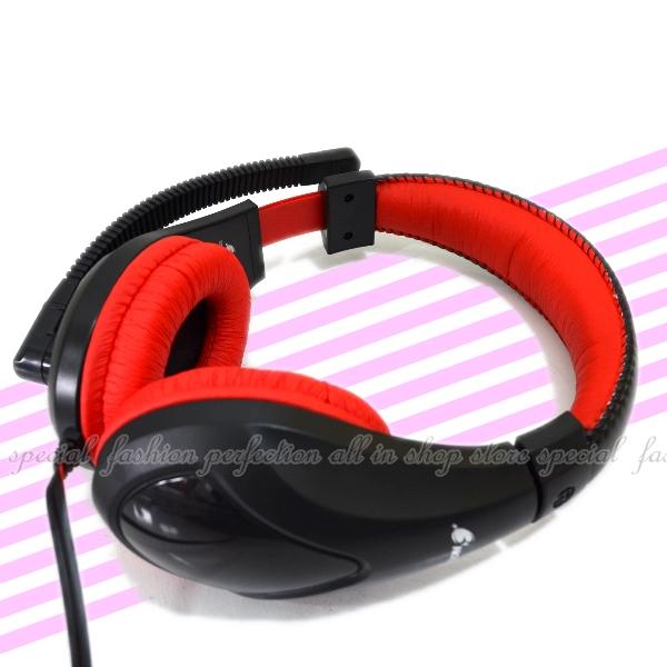 全罩耳機LP388耳機麥克風 耳罩式麥克風耳機 3.5mm接頭 隔音耳罩 可調音量【DK499】◎123便利屋◎