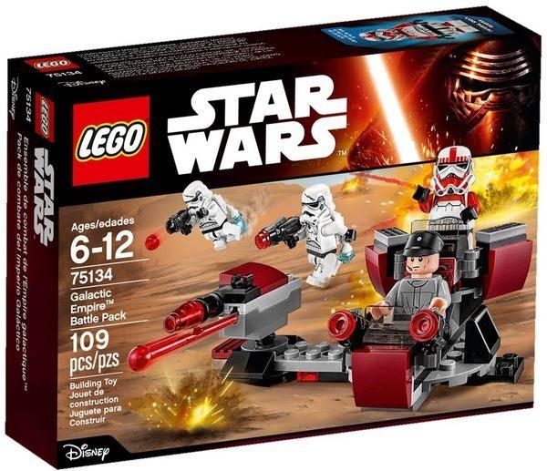【LEGO 樂高積木】星際大戰系列 - Galactic Empire Battle Pack LT-75134