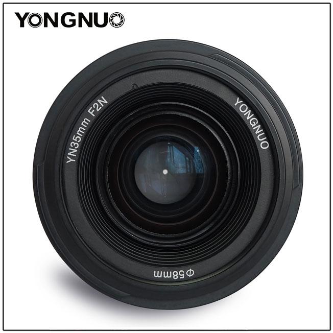 [享樂攝影] 永諾 Yongnuo YN 35mm F2 for Nikon 單眼人像鏡頭 人像鏡 標準鏡 kit 35 2.0 大光圈 定焦鏡 Nikon D5 D4 D800 D750 D610