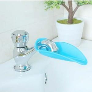 美麗大街【BF027E24E856】鴨嘴造型加長水龍頭延伸器寶寶兒童導水槽洗手器