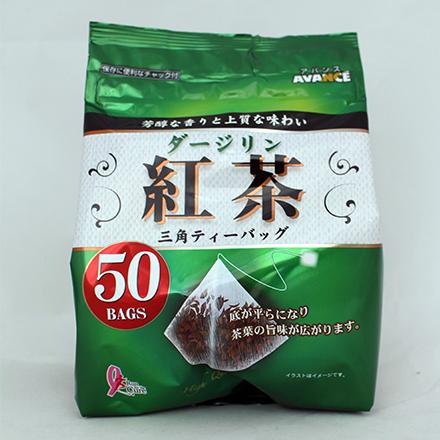 【敵富朗超巿】國太樓立體三角包大吉嶺紅茶50包入