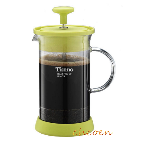 【晨光】TIAMO FH-121P多功能玻璃濾壓壺400ml(HG1981)