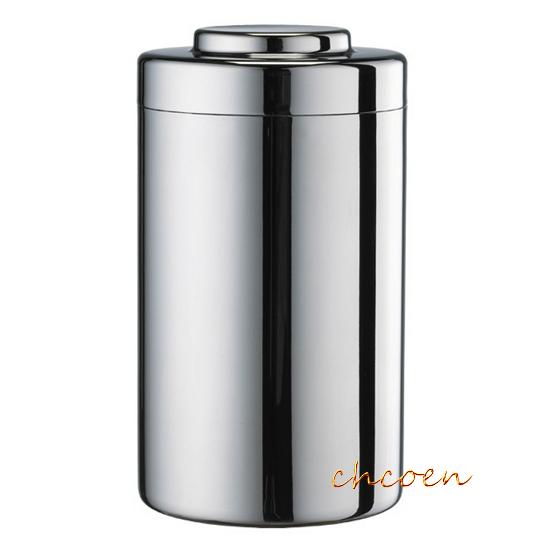 【晨光】Tiamo 不繡鋼儲豆罐/茶葉罐500g (HG2803)