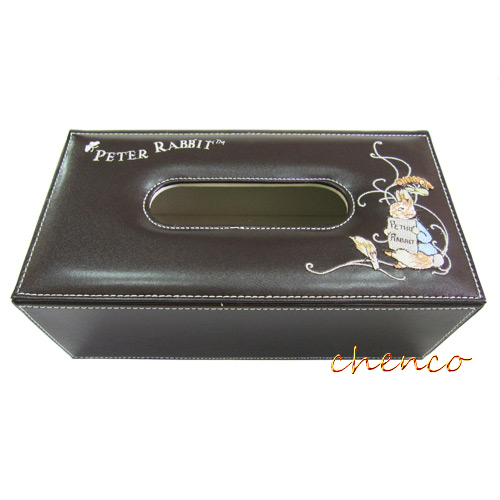 【晨光】彼得兔 皮革面紙盒SH001