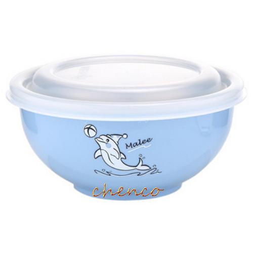 【晨光】Zebra斑馬牌 彩色隔熱兒童碗附湯匙-藍 (842023)