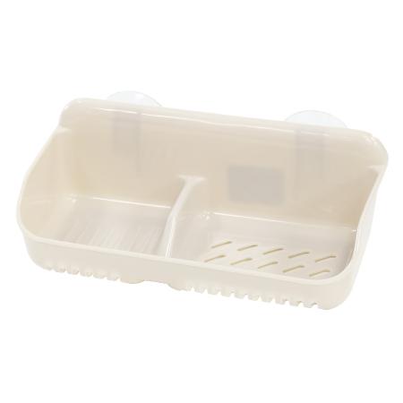 雙格皂盒 KW-5 附吸盤 IV