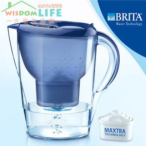 【暫時缺貨勿下標】免運BRITA Marella XL 馬利拉 3.5L 濾水壺,1壺+4芯,藍現在只賣1500元!!