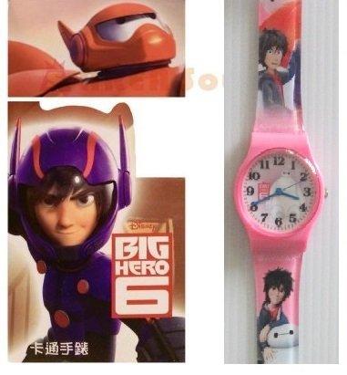 【禾宜精品】正版 迪士尼 大英雄天團 手錶 兒童錶 休閒錶 卡通錶 生活百貨 (BG-502)