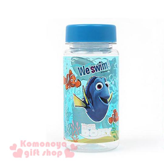 〔小禮堂韓國館〕海底總動員2 多莉 隨身冷水瓶《小.透明.藍蓋.海底好朋友.Nemo.350ml》附濾網