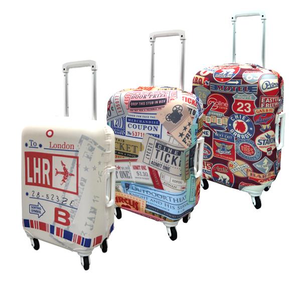 【加賀皮件】 HAPITAS 旅行箱套 S號 多款式 彈性佳 可伸縮 收納方便 旅行箱套 HAP7037