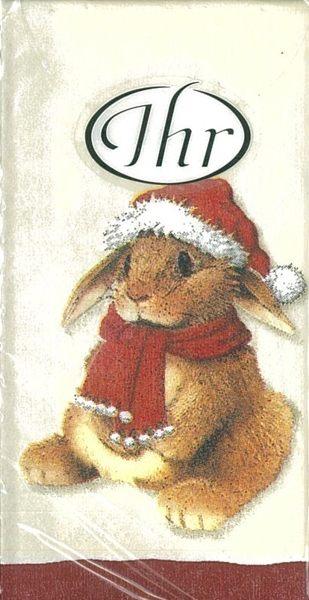 聖誕兔-德國 IHR 紙手帕