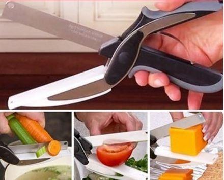 德國刀片技術便利智慧剪(剪刀+砧板二合一) 159元