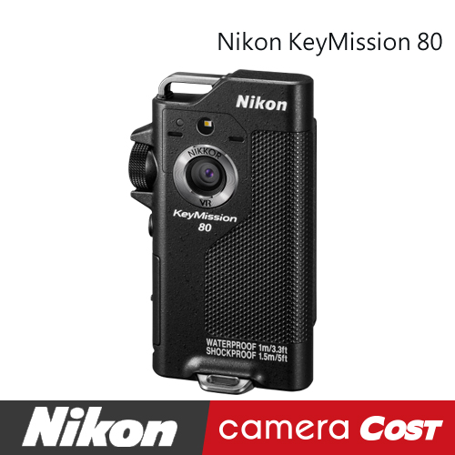 ★搶先預購★Nikon Keymission 80 運動攝影機 廣角 防水1米國祥公司貨 另有 170 360