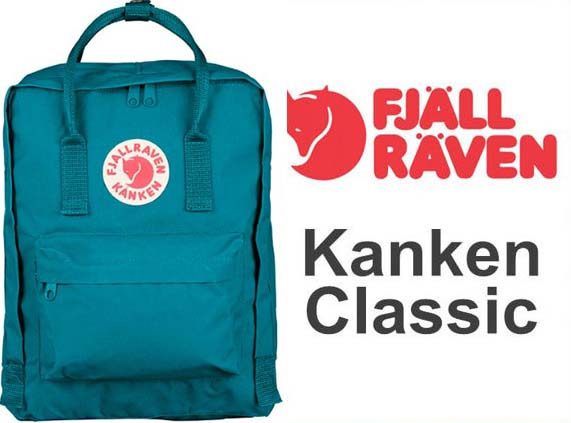 瑞典 FJALLRAVEN KANKEN   Classic 539湖水藍 小狐狸包