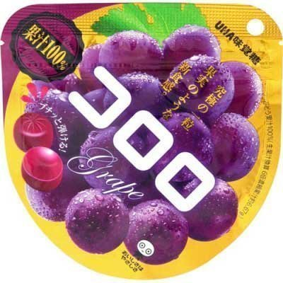 [人氣日本零食]UHA味覺糖100%果汁葡萄軟糖  40g