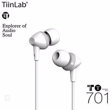 TiinLab TBass of TFAT TT 低音 系列 TT701 周杰倫 調音 入耳式 耳機【白】