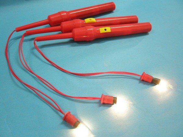 燈籠提把 一般DIY燈籠提把 /紅色提桿 (一般燈泡) 43cm /一支入 [#20]