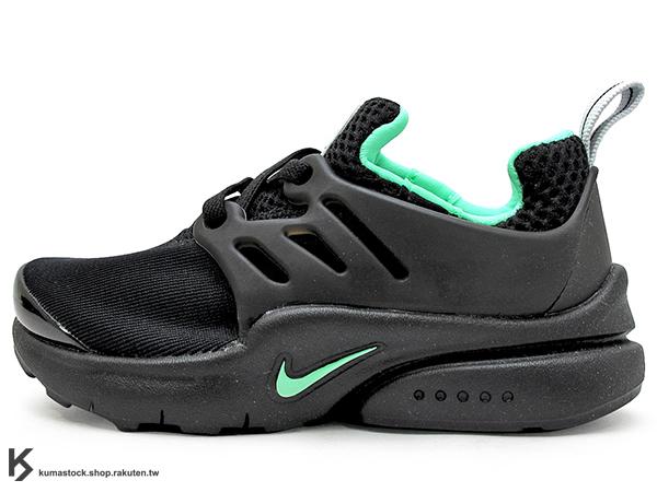 2016 台灣未發售 NSW 輕量舒適 NIKE LITTLE PRESTO TD BT 幼童鞋 BABY 鞋 黑綠 輕量好穿 (844765-001) !