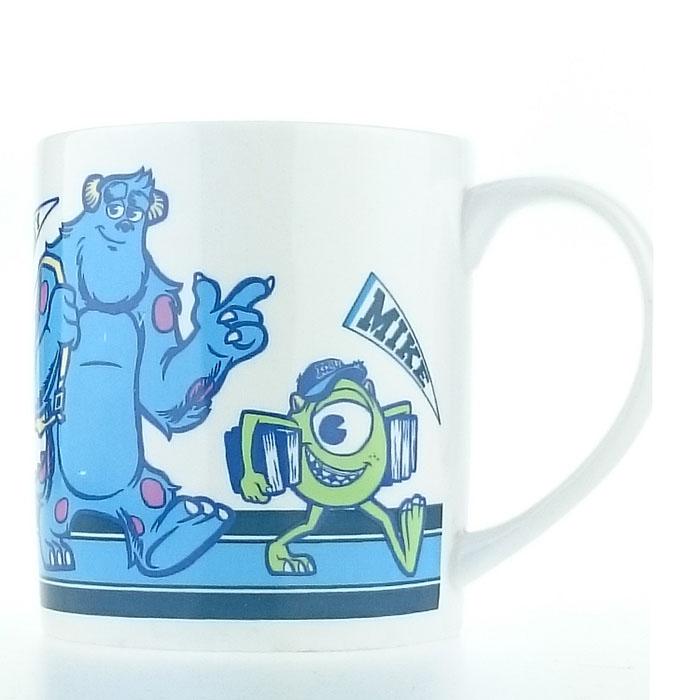 大田倉 日本進口正版商品 迪士尼 皮克斯 怪獸大學 Monsters University 毛怪 大眼仔 杯子 馬克杯 麥可004772