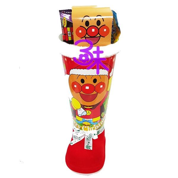(日本)  Fujiya 不二家 麵包超人聖誕鞋 1袋 246 公克 特價 350 元 【4902555148434 】聖誕節禮物 聖誕節糖果