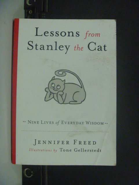 【書寶二手書T9/原文小說_KHY】Lessons from Stanley the Cat