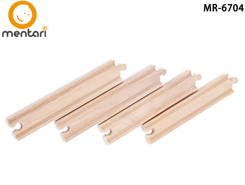 火車軌道配件-加長型軌道 | Mentari 木頭火車系列
