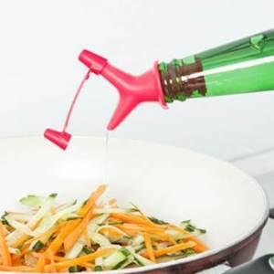 美麗大街【BF123E19E2】創意雙頭防抖調料瓶嘴塞斟倒 紅酒塞導流器