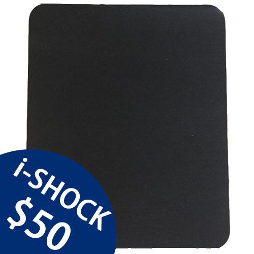 i-shock QQ滑鼠墊 (黑)