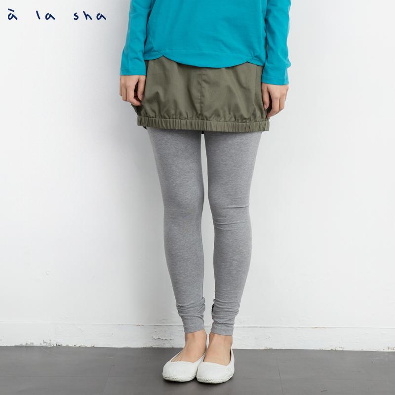 a la sha Qummi 波浪外型口袋扭轉短裙