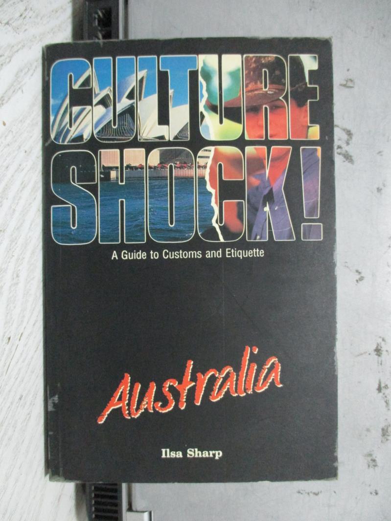 【書寶二手書T1/原文書_NBH】Culture shock! Australia_Ilse