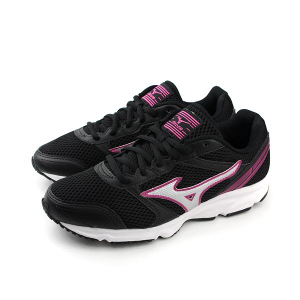 Mizuno 美津濃 RUNNING 跑鞋 女鞋 黑色 no007 楦頭(寬)