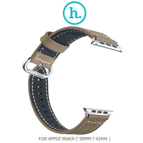 HOCO 優尚皮錶帶 - 奢華款/Apple Watch(38mm/42mm)/皮質錶帶/手錶帶/皮錶帶【馬尼行動通訊】