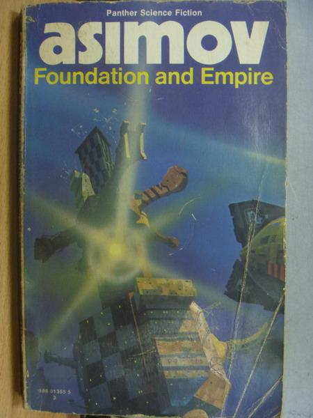 【書寶二手書T1/原文小說_MRP】asimov_Foundation and Empire