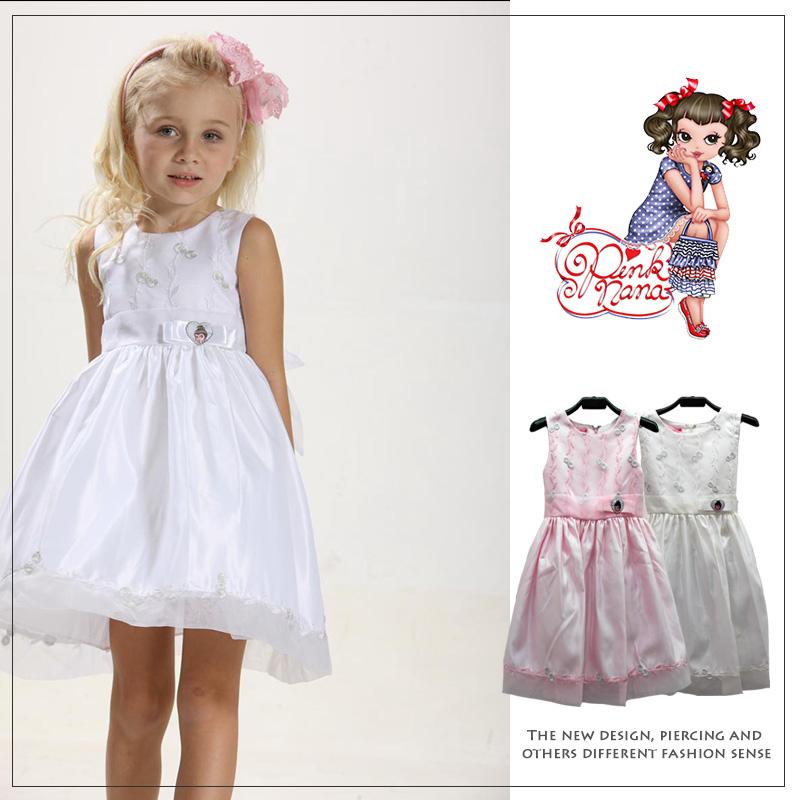 PINKNANA縫花造型小禮服21301