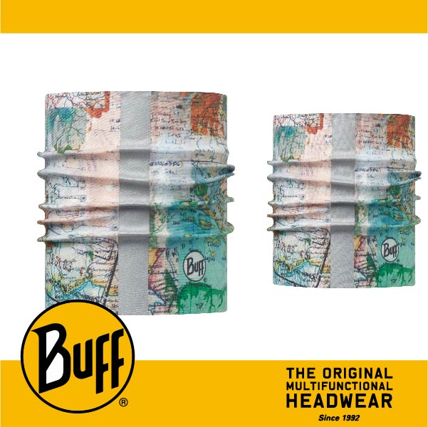 BUFF 西班牙魔術頭巾 寵物頭巾系列 BF113122-555-25 寵物反光頭巾M/L 歷險啟程