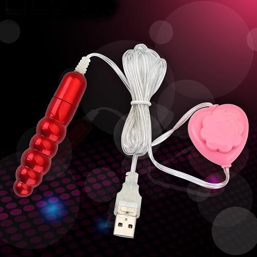 【星鑽情趣精品】●小S跳蛋 超強力USB(微調式)螺紋跳蛋-紅色(E00155)