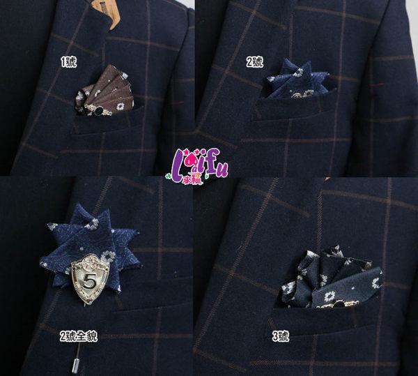 ★草魚妹★k630胸針二用口袋巾結婚新郎領結表演西裝口袋巾胸花,售價199元