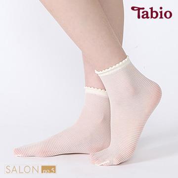 靴下屋Tabio 除臭條紋短絲襪 / 絲襪材質短襪