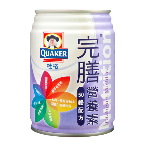 QUAKER桂格 完膳營養素(50鉻配方)250mlx24罐