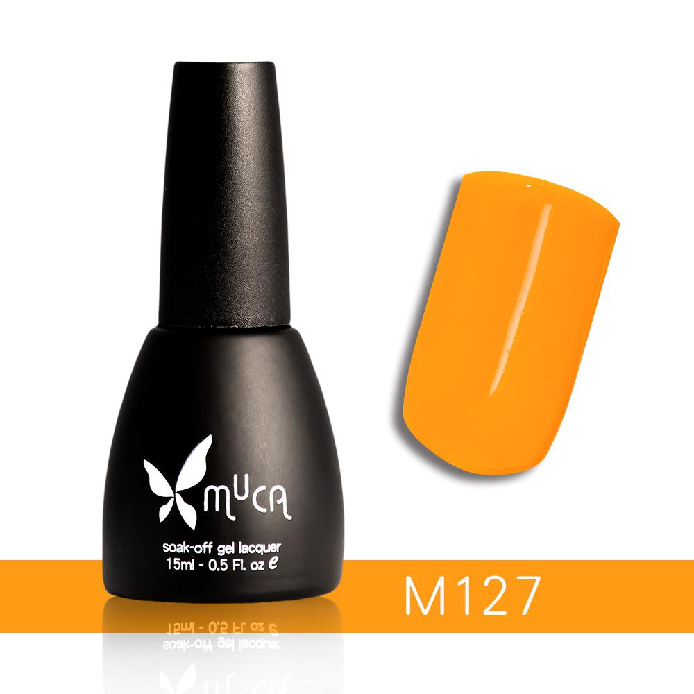 Muca沐卡 即期光撩凝膠指甲油 M127(15ml)