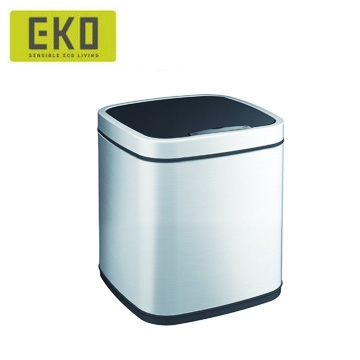 【HOME WORKING】EKO 臻美自動感應垃圾桶-6L(兩色可選)