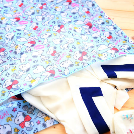 正版史奴比洗衣網袋(大方型)  Snoopy 史奴比 護洗袋 洗衣袋 分隔袋 衣物不變形 襪子 衣物 外套【B060957】
