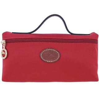 【LONGCHAMP】 LE PLIAGE 化妝包 - 玫紅