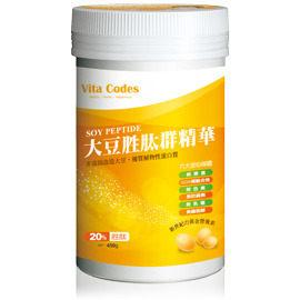 Vita Codes 大豆胜肽群精華 450g/罐 ~ 陳月卿推薦★讓精力湯營養又美味