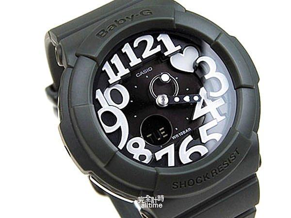 【完全計時】手錶館│ Baby-G 超人氣霓虹照明系列 BGA-134-3BDR夜光/PK/少時現貨冷光墨綠casio l