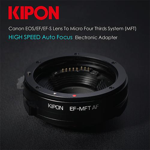 Kipon轉接環專賣店: EF-MFT AF自動對焦轉接環