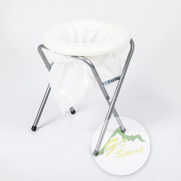 【露營趣】中和 GO SPORT 便器附塑膠袋 簡易馬桶 51002