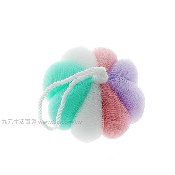 【九元生活百貨】美容南瓜沐浴球 沐浴巾