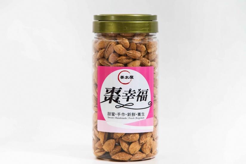 【姜太屋棗幸福工坊】帶殼杏仁果 罐裝