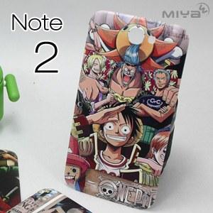 三星 Note 2 海賊王浮雕手機電池蓋背蓋 現貨